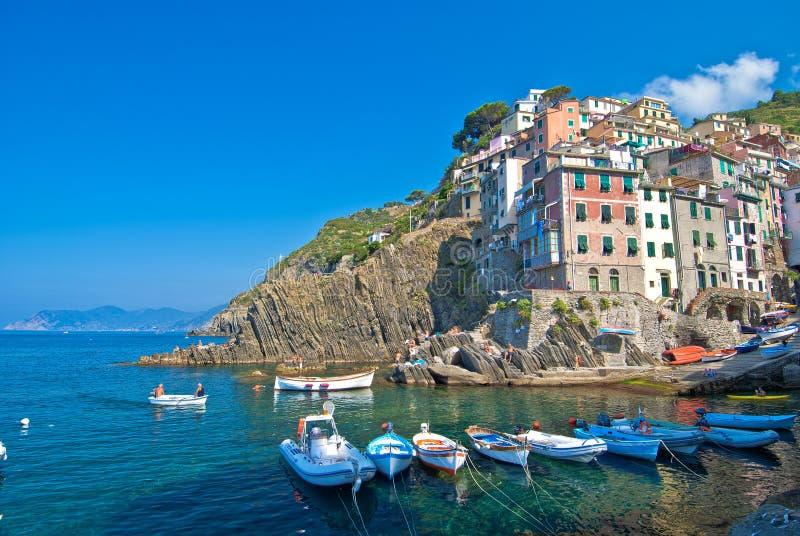 Puerto deportivo, maggiore de Río, Italia fotografía de archivo libre de regalías