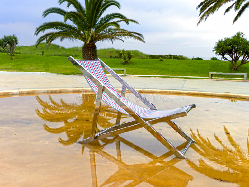 Puerto Elizabeth Beachfront Artwork fotos de archivo