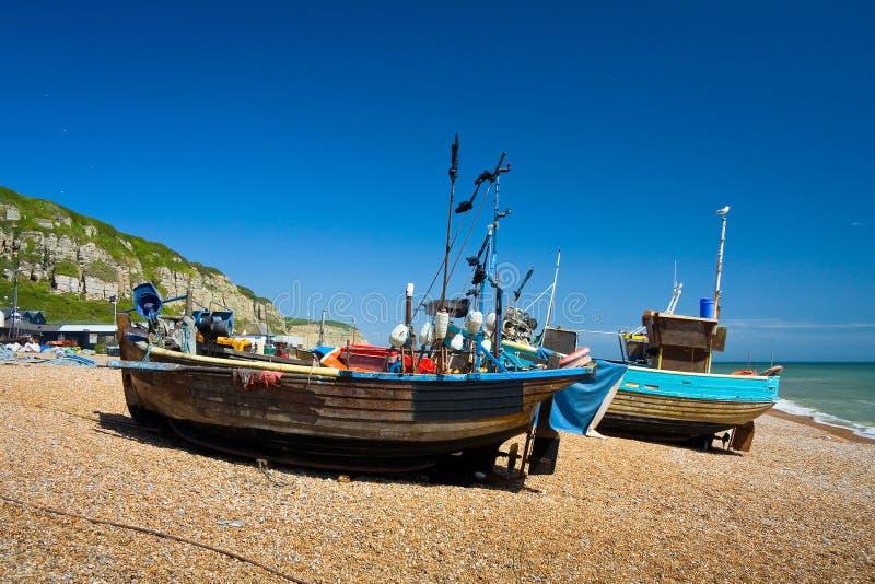 Puerto en Hastings, Reino Unido imagen de archivo libre de regalías