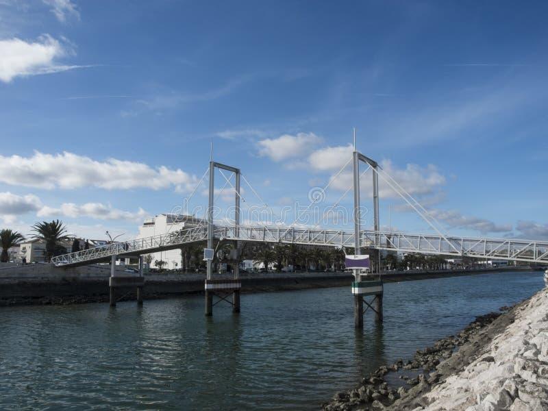 Puerto en Lagos Portugal imágenes de archivo libres de regalías