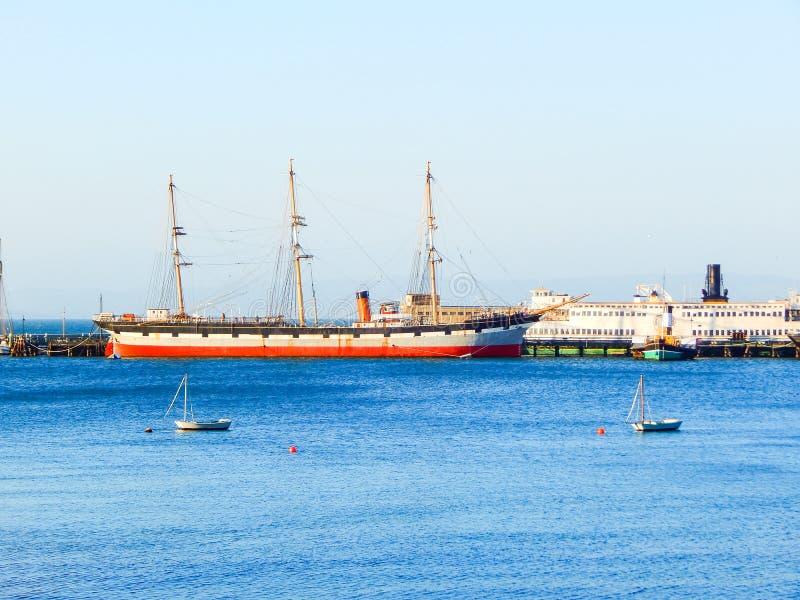 Puerto en San Francisco en el Océano Pacífico imágenes de archivo libres de regalías