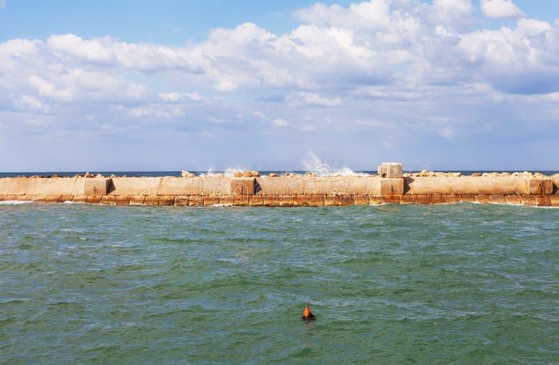 Puerto en Yaffa fotografía de archivo libre de regalías
