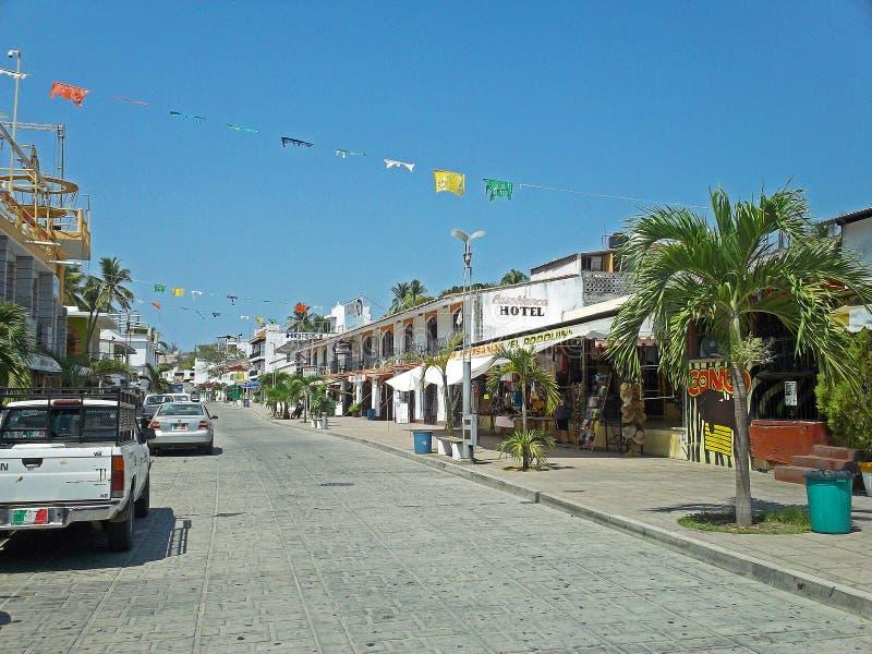 Puerto Escondido, México foto de archivo
