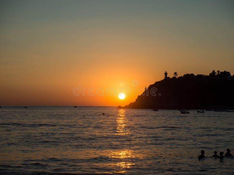 Puerto Escondido, Oaxaca, Mexico, Zuid-Amerika: stock fotografie
