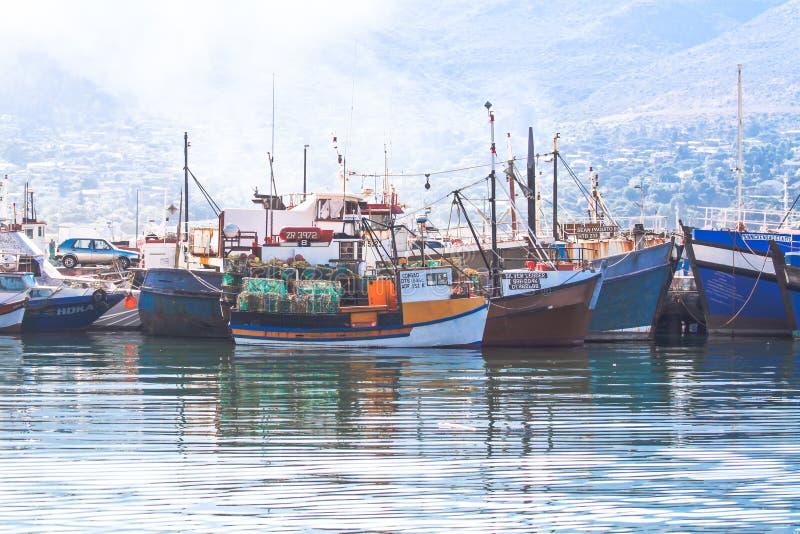 Puerto falso de la bahía foto de archivo libre de regalías