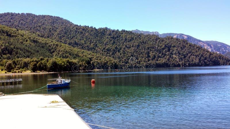 Puerto Fuy - Chile imagenes de archivo