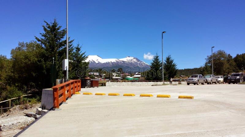 Puerto Fuy - Chili royalty-vrije stock fotografie
