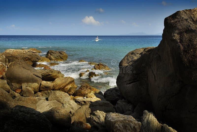 puerto galera стоковое изображение