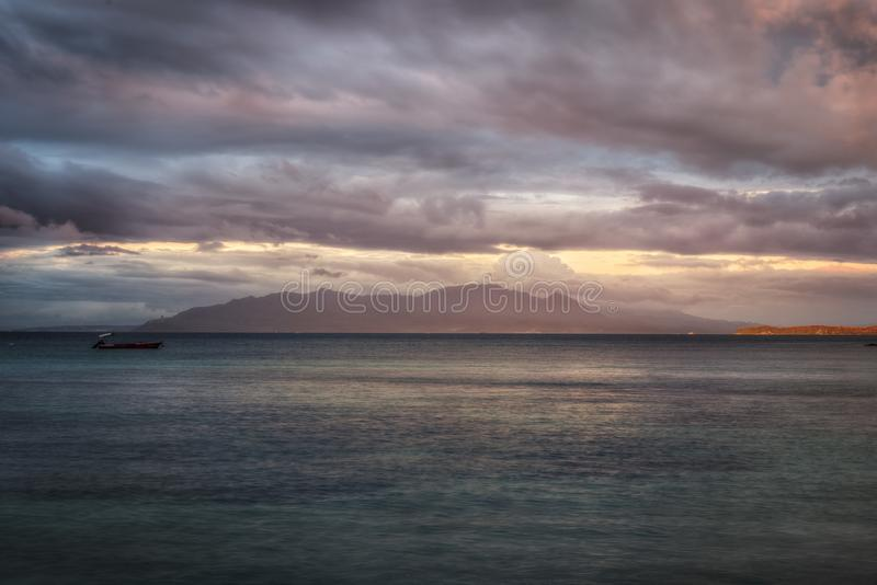 Puerto Galera Filippine immagini stock libere da diritti