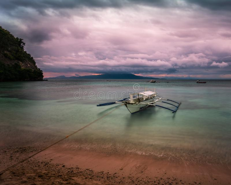 Puerto Galera Filippine immagine stock