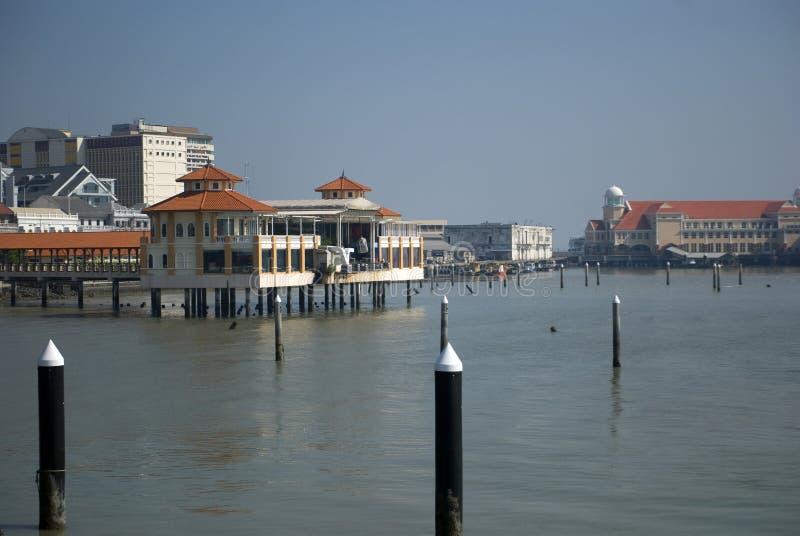 Puerto, Georgetown, Penang, Malasia imágenes de archivo libres de regalías