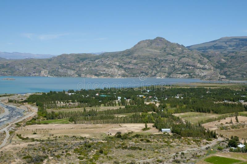 Puerto Ibanez - Chile fotografía de archivo libre de regalías