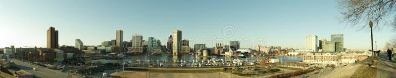Puerto interno de Baltimore imagen de archivo libre de regalías