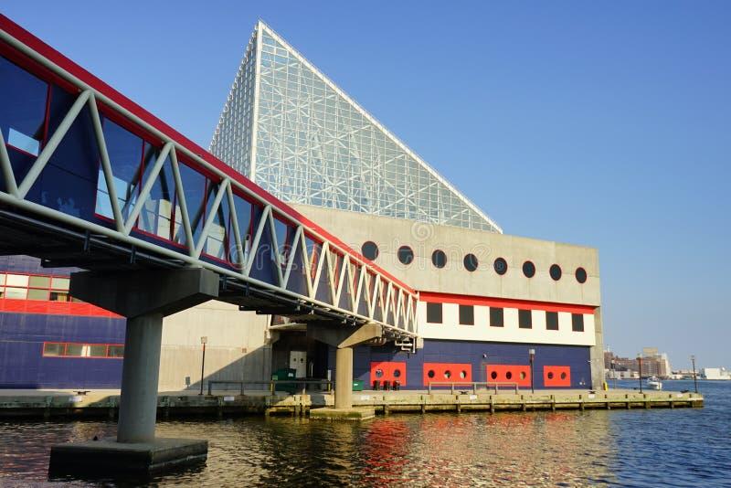 Puerto interno de Baltimore foto de archivo