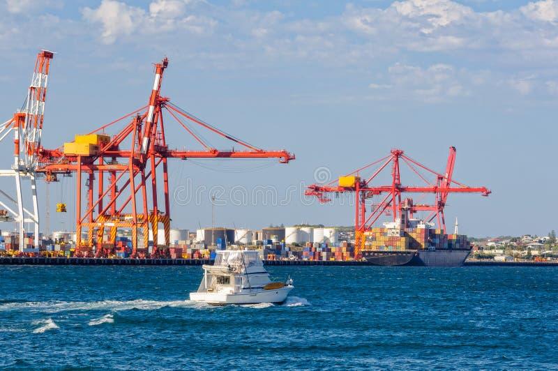 Puerto interno - Fremantle foto de archivo