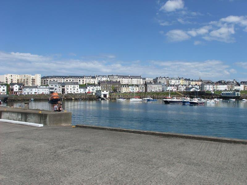 Puerto Irlanda del Norte de Portrush imagen de archivo