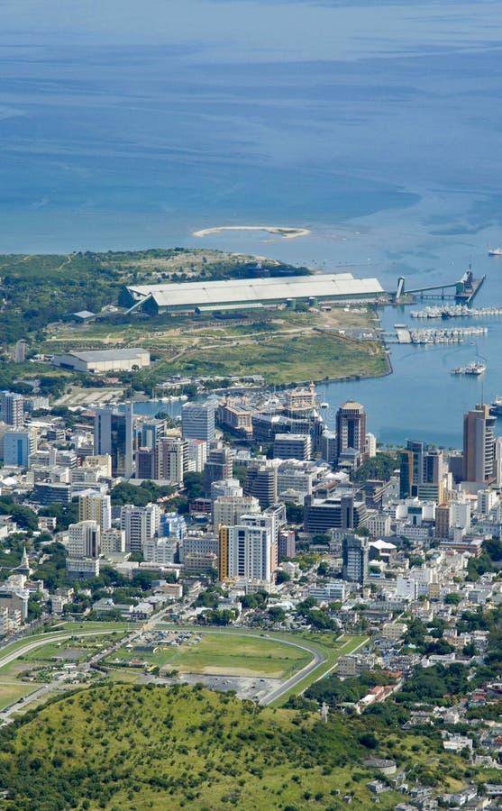 Puerto Louis Mauritius fotografía de archivo libre de regalías