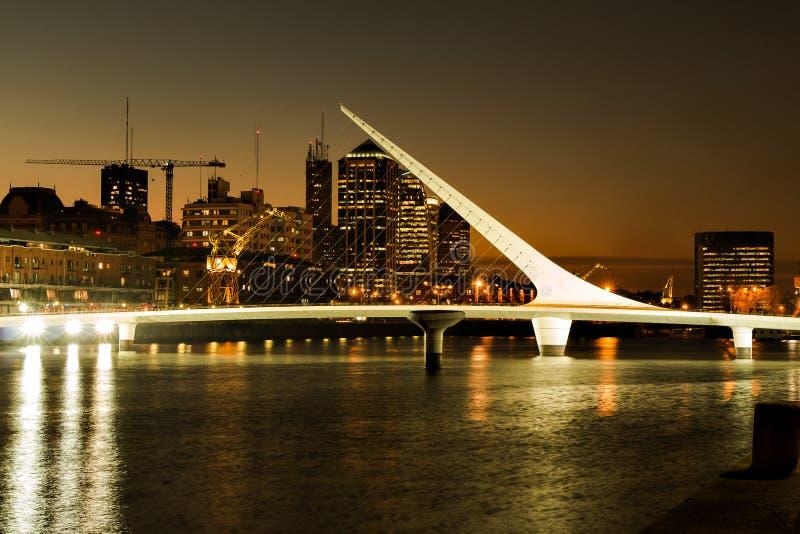 Puerto Madero, Буэнос-Айрес Argentinien стоковая фотография