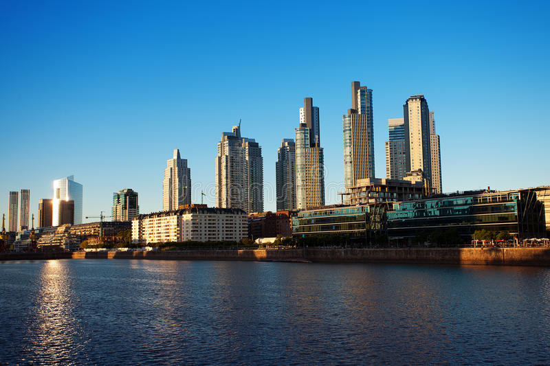 Download Puerto Madero stock image. Image of colorful, landmark - 25162477