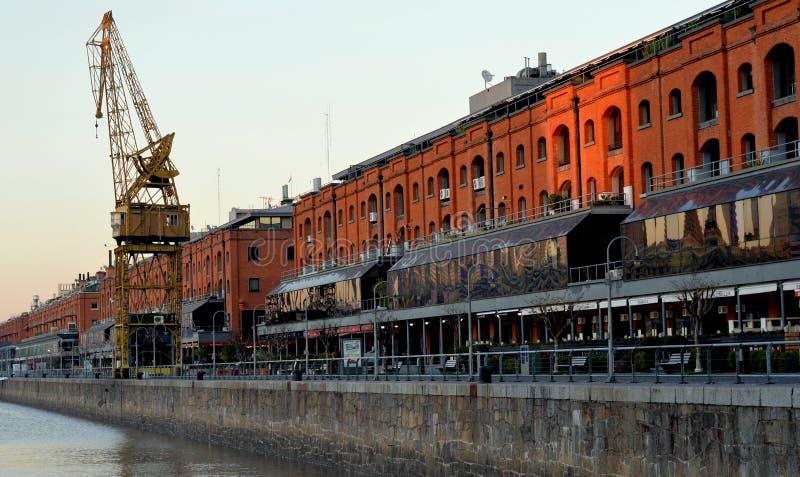 Puerto Madero obrazy royalty free