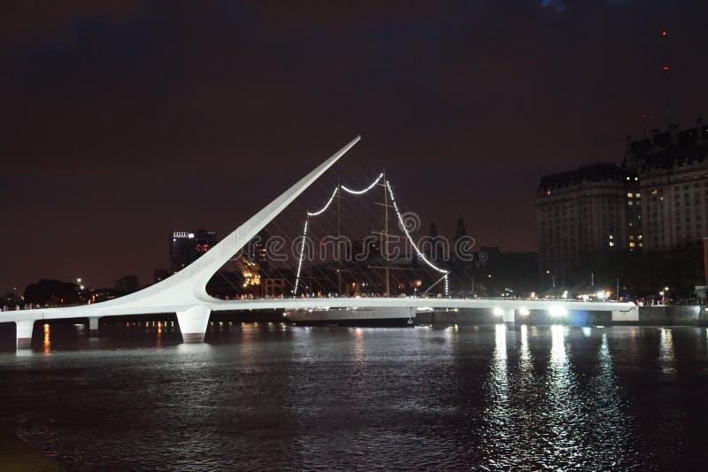 Puerto Madero stock afbeelding