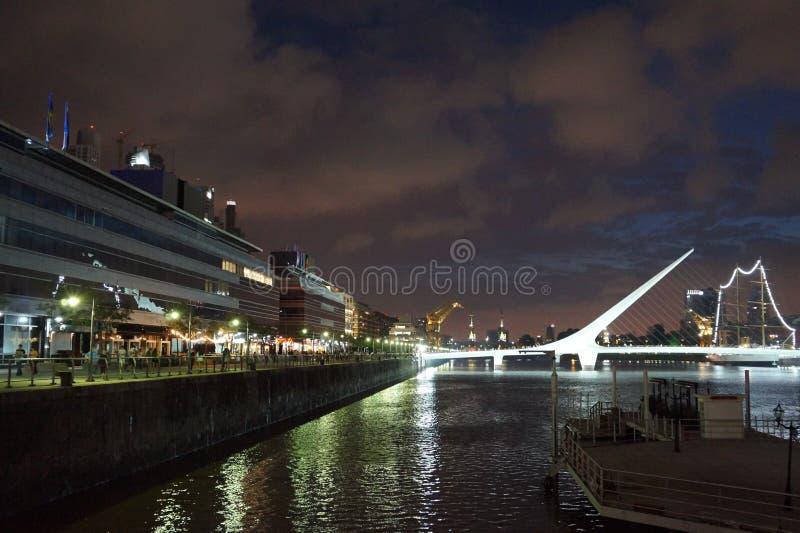 Puerto Madero stock foto