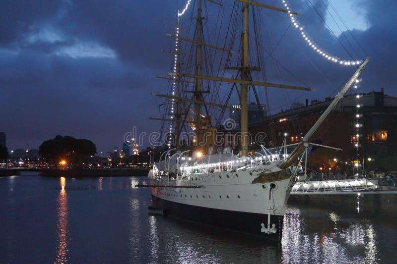 Puerto Madero royalty-vrije stock afbeeldingen