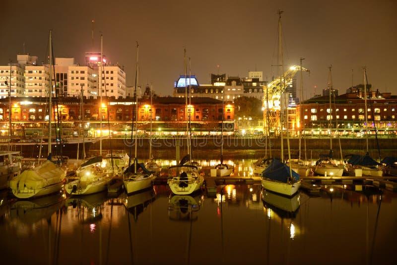 Puerto Madero-Buenos艾雷斯阿根廷 库存照片