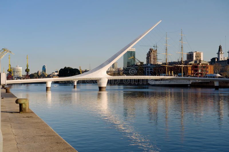 Puerto Madero, Buenos Aires, stock images