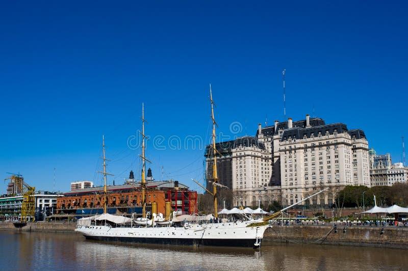 Puerto Madero, Buenos Aires stockbild