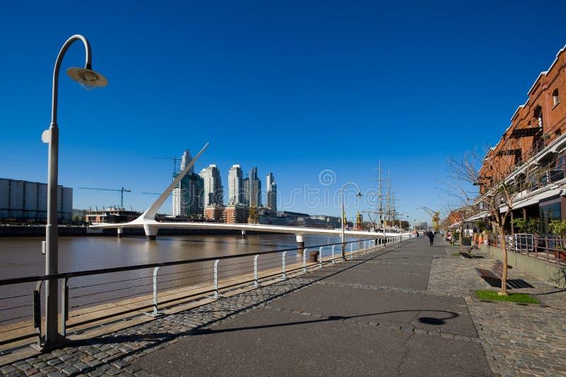 Puerto Madero, Buenos aires stock afbeeldingen