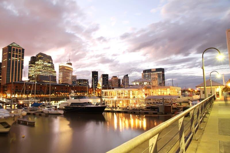 Puerto Madero, Buenos Aires photo libre de droits