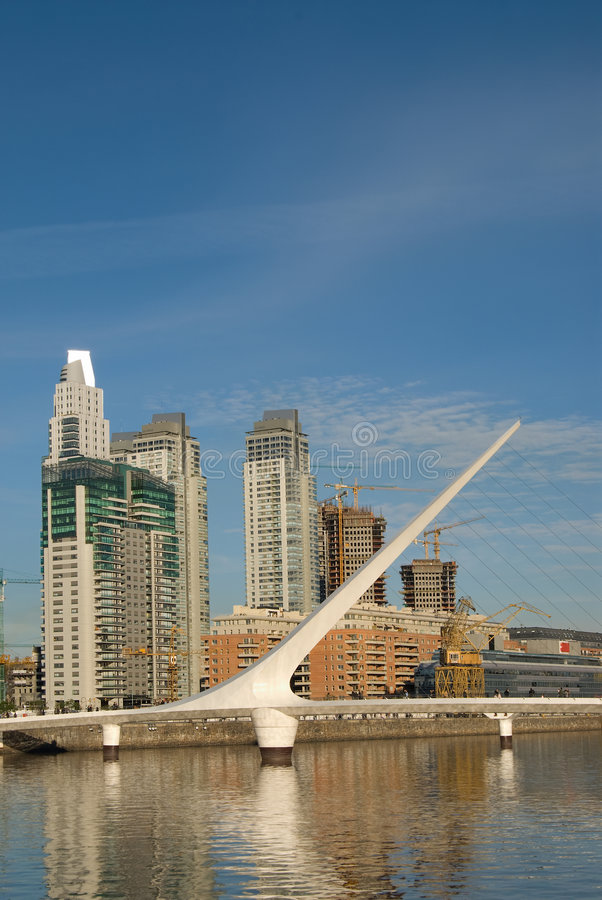 Puerto Madero in Buenos Aires. Puerto Madero, touristic destination in Buenos Aires, Argentina royalty free stock images
