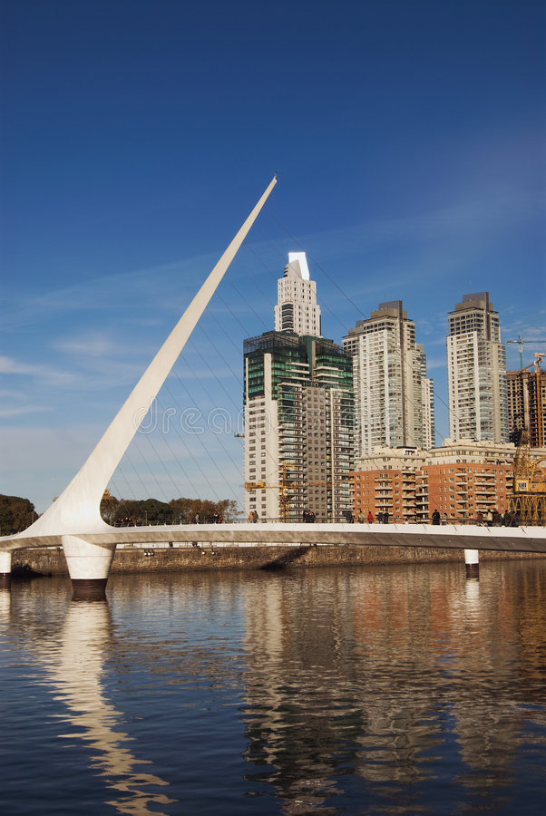 Puerto Madero in Buenos aires royalty-vrije stock foto