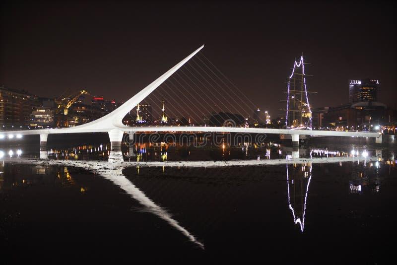 Puerto Madero-Buenos Aires- Argentina royaltyfri fotografi