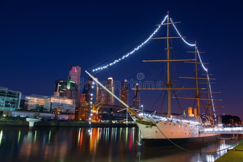 Puerto Madero, Buenos Aires, Argentina. royalty free stock photo