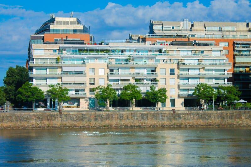 Puerto Madero Detail Capital Destination. Business Travel Destination Lifestyle Harbor stock images