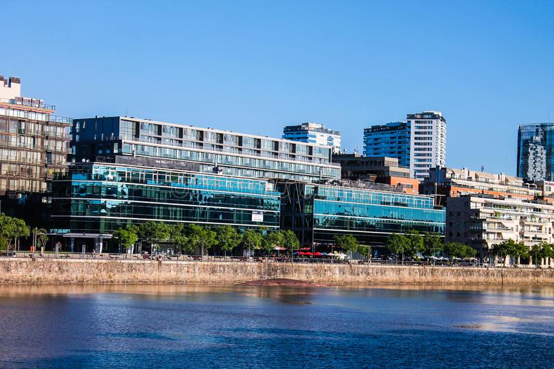 Puerto Madero Detail City Lifestyle Waterfront royalty free stock image