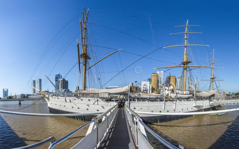 Puerto Madero district in Buenos Aires, Argentina. Puerto Madero, also known within the urban planning community as the Puerto Madero Waterfront district in stock photos