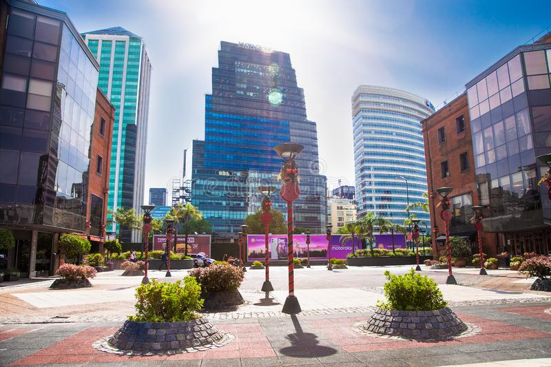 Puerto Madero district in Buenos Aires, Argentina stock photography