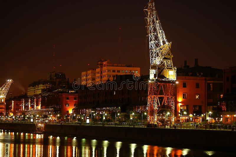 Puerto Madero waterfront royalty free stock images