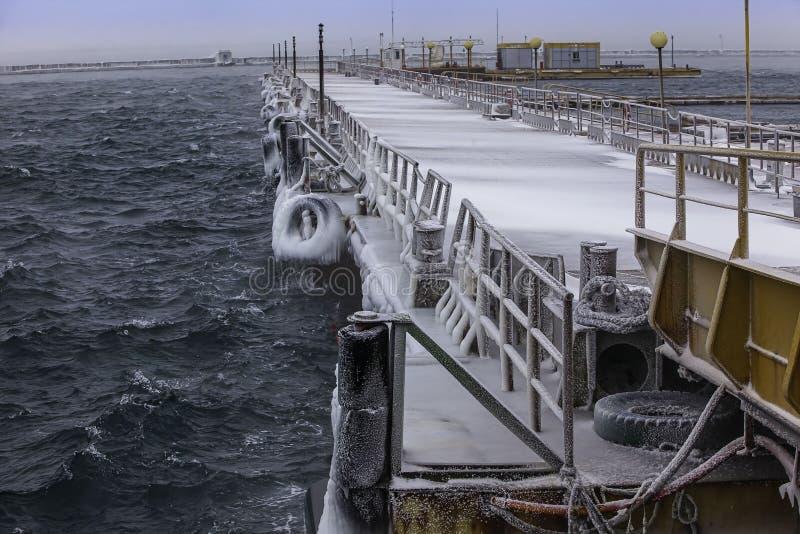 Puerto marítimo imagen de archivo libre de regalías