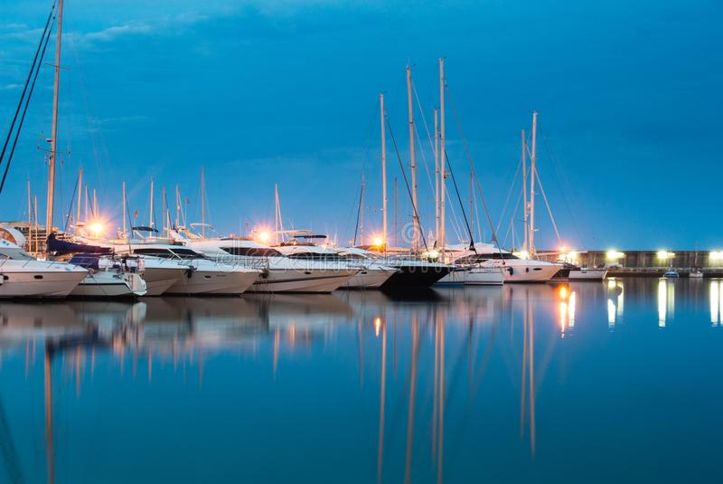 Puerto Marina Benalmadena fotos de stock