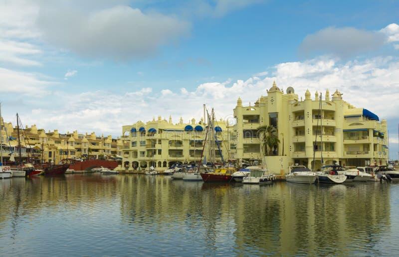 Puerto Marina Benalmadena, Malaga, Spain royalty free stock photos