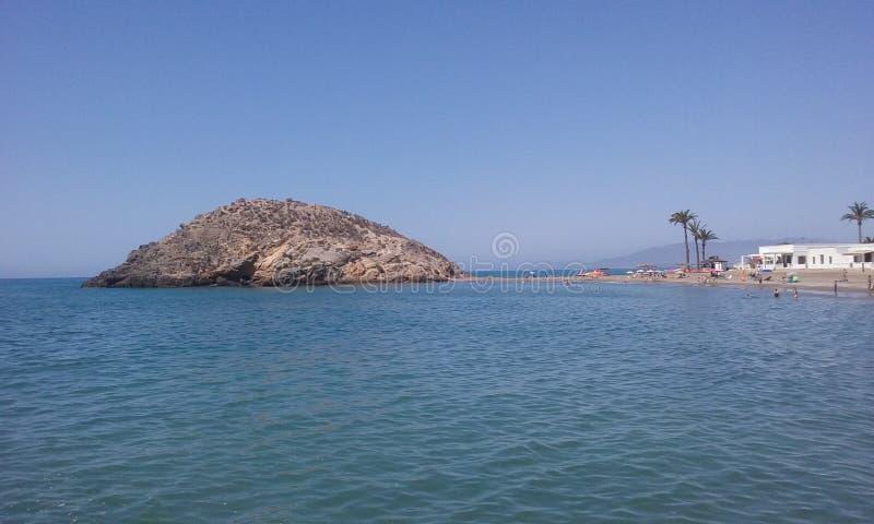 Puerto mazarron royalty free stock image