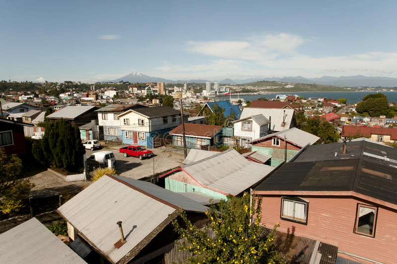 Puerto Montt - Χιλή στοκ εικόνα