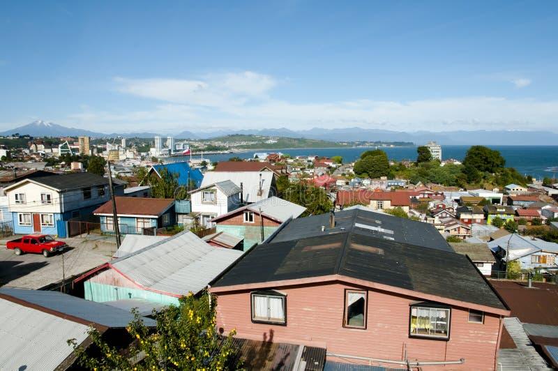 Puerto Montt - Χιλή στοκ φωτογραφίες