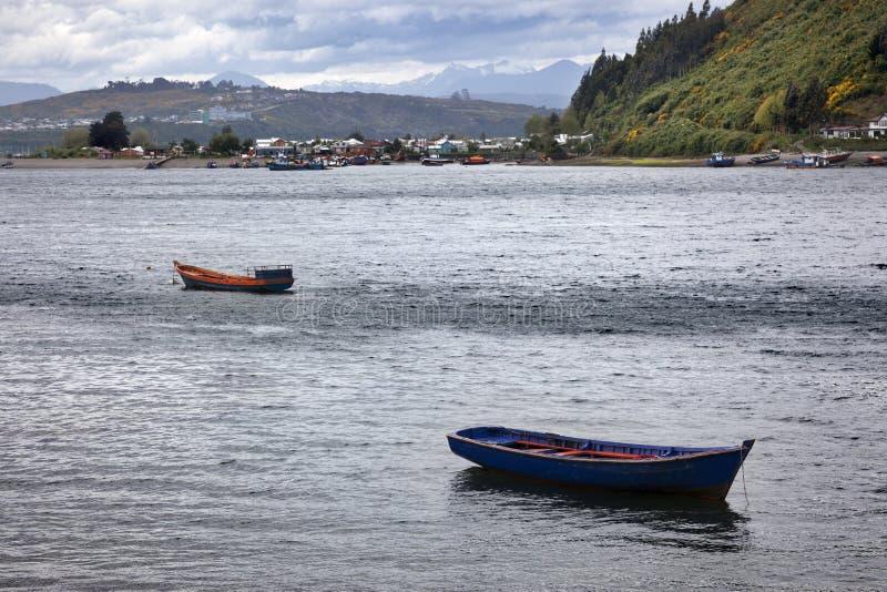 Puerto Montt К югу от Чили стоковое изображение rf