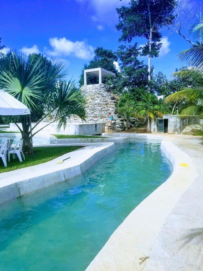 Puerto morelos royalty free stock photography