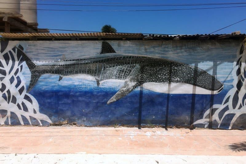 Puerto Morelos, Mexico royaltyfri bild